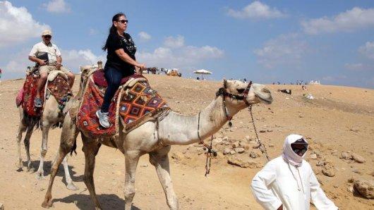Günstiger Wechselkurs:Reisende aus einem Euro-Land bekommen in Ägypten jetzt mehr für ihr Geld.