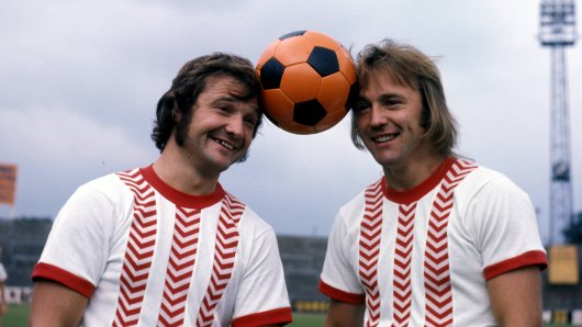 Style-Pioniere: Willi Lippens (l.) und Wolfgang Rausch können es tragen.