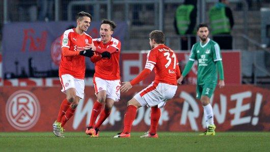 RWE brauchte die Verlängerung für den Einzug ins Halbfinale.