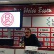 Rot-Weiss Essen sorgte mit einer kuriosen Pressekonferenz für Aufsehen.