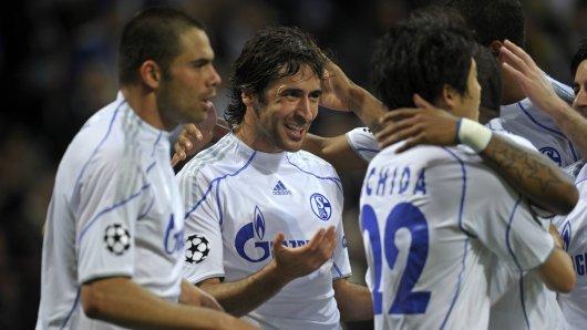 Raùl spielte mit Schalke die erfolgreichste Champions-League-Saison der Vereinsgeschichte.