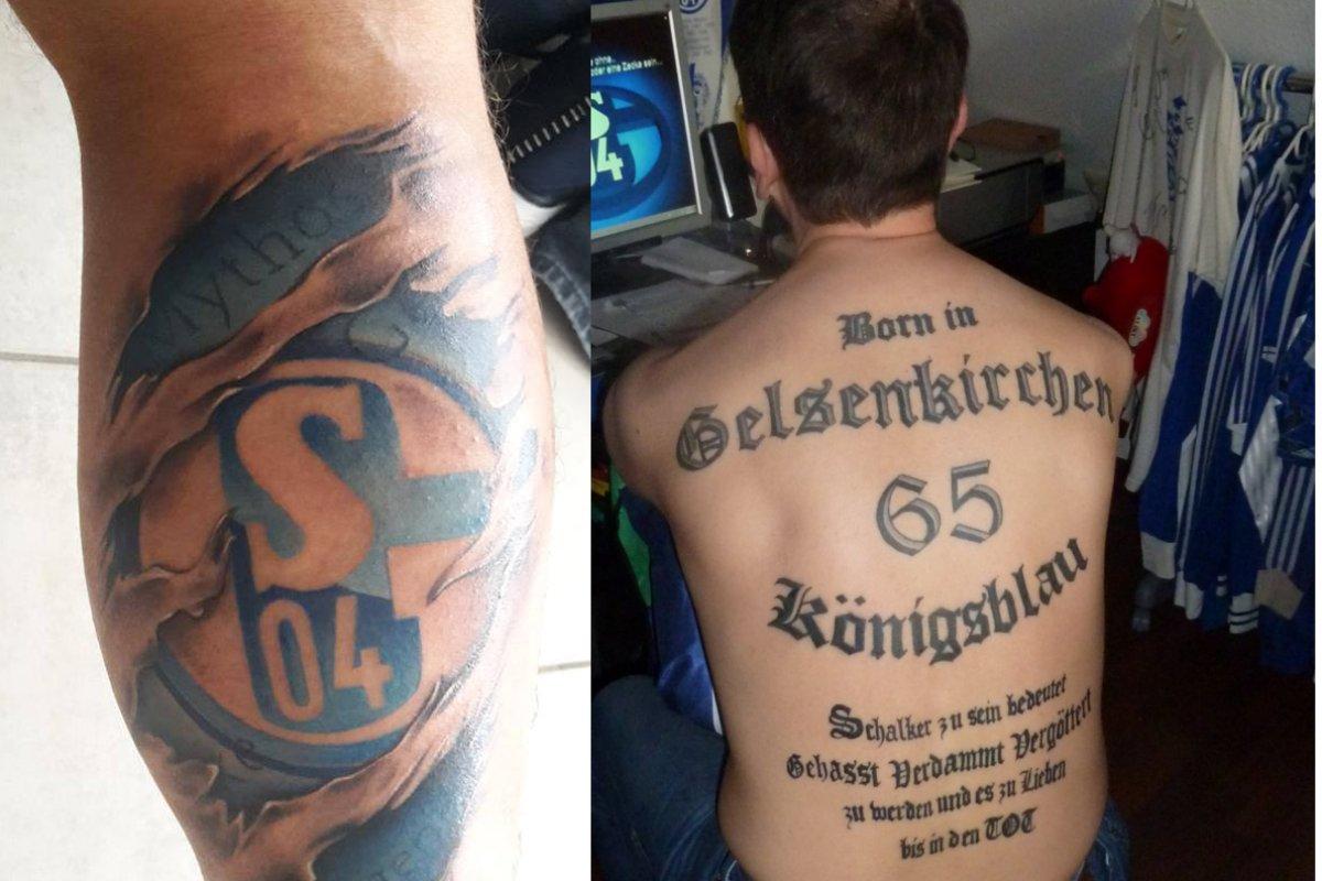 Das Sind Die Geilsten Tattoos Der Fans Des Fc Schalke 04