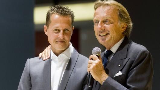 Michael Schumacher und Luca Di Montezemolo arbeiteten jahrelang Seite an Seite.