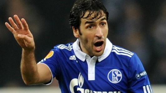 Beim FC Schalke 04 war Raúö großer Publikumsliebling.