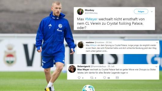 Die Netz-Gemeinde ist sich einig: Der Wechsel von Max Meyer zu Crystal Palace war in vielerlei Hinsicht ein Fehler.