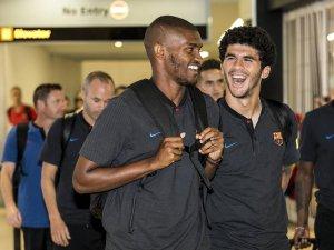 Er war wohl auch bei Schalke 04 im Gespräch: Innenverteidiger Marlon (links) vom FC Barcelona.