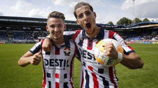 Donis Avdijaj spielt bisher eine starke Saison bei Willem II. Seinem Teamkollegen Fran Sol gefällt das.