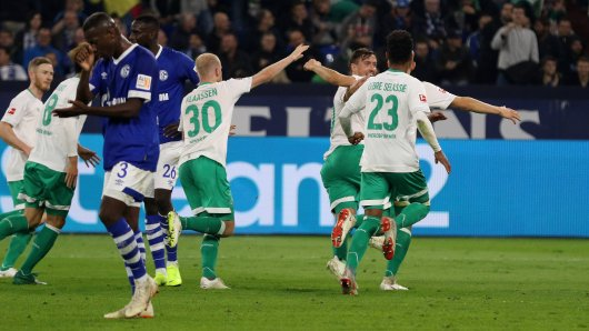 Maximilian Eggestein bringt Werder Bremen in Führung.