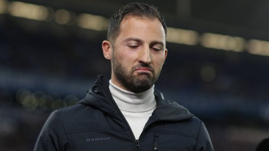 Schalke-Trainer Domenico Tedesco.
