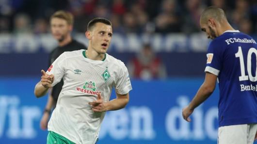Maximilian Eggestein traf gegen den FC Schalke 04 zweimal.