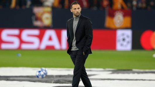 Schalkes Trainer Domenico Tedesco istweiterhin davon überzeugt, dass er der richtige Trainer für den Verein ist.