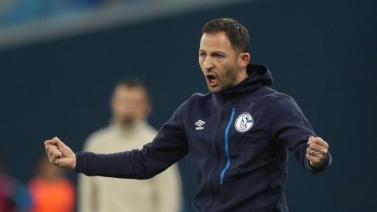 Domenico Tedesco, Trainer des FC Schalke 04.