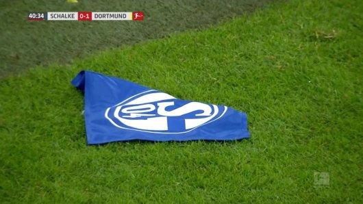 Nach dem Spiel gegen Dortmund lag Schalke endgültig am Boden.