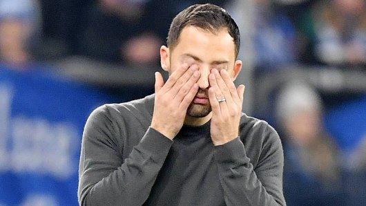 Bei Schalke hakt es laut Coach Domenico Tedesco vor allem im Angriff.