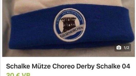Schalke Mütze