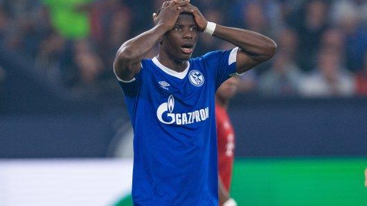 Schalke-Stürmer Breel Embolo ist seit November 2018 verletzt. Wann er zurückkommt, ist noch unklar.