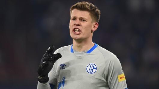 Beim FC Schalke 04 könnte Alexander Nübel schon bald einen neuen Vertrag erhalten.