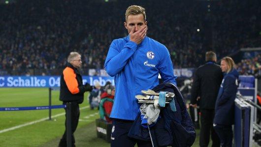 Schalke-Torwart Ralf Fährmann saß beim Bundesligaspiel gegen den VfL Wolfsburg nur auf der Bank.