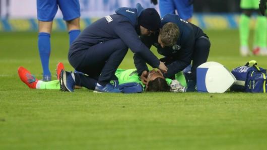 Benjamin Stambouli brach sich im Spiel bei Hertha BSC wohl das Jochbein.