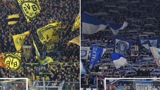 Fans von Borussia Dortmund und Schalke freuen sich über eine starke Geste der Stadt Dortmund.