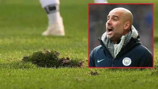 Der FC Schalke 04 muss sich rausputzen. Wenn Pep Guardiola und Manchester City zu Gast sind, muss der Rasen im Top-Zustand sein.
