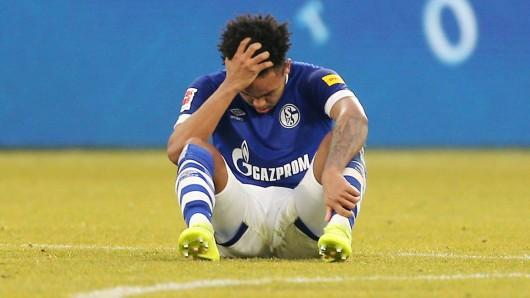 Auch Weston McKennie war nach dem Torlos-Remis von Schalke gegen Freiburg bedient.