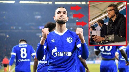 Bei Schalke - Manchester City war DAZN-Experte Per Mertesacker war Co-Kommentator.