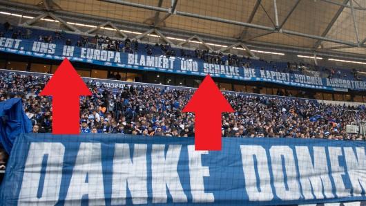 Die Fans des FC Schalke 04 kritisierten die eigenen Spieler scharf.
