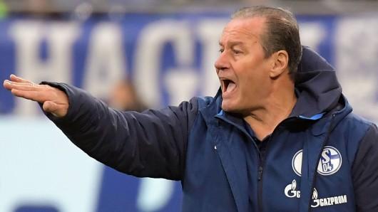 Beim FC Schalke 04 sah Huub Stevens eine ordentliche Leistung seiner Mannschaft.