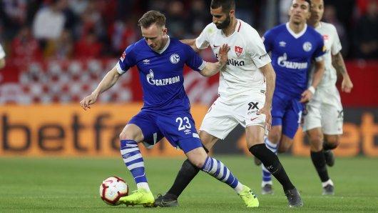 Schalke am Freitagabend zum Freundhscaftsspiel beim FC Sevilla zu Gast.