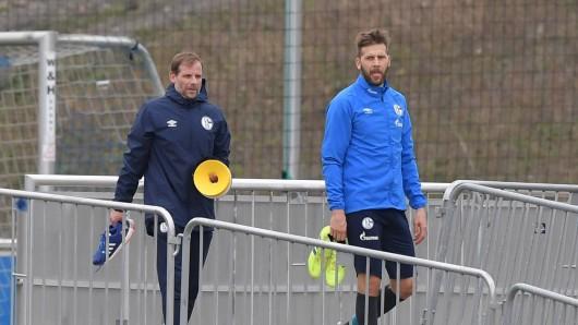 Beim FC Schalke 04 konnte Guido Burgstaller am Montag wieder Vollgas geben.