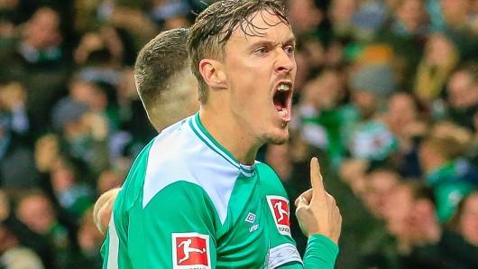 Max Kruse ist schon heiß auf das Spiel zwischen Schalke und Bremen.