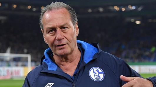 Huub Stevens will mit Schalke am Samstag zurück in die Erfolgsspur finden.