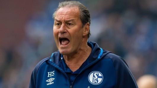 Nach dem Spiel zwischen Schalke und Frankfurt platzte Huub Stevens der Kragen.