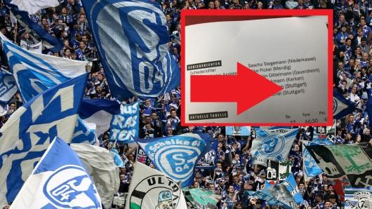 Fans des FC Schalke 04 regten sich über die Ansetzung der Video-Assistenten auf.