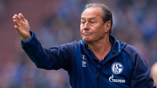 Huub Stevens weiß genau: Das Restprogramm von Schalke hat es in sich.