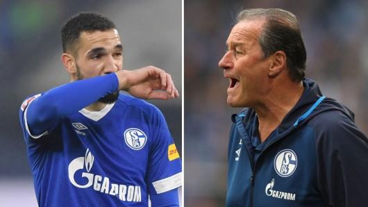 Beim FC Schalke 04 hatte Huub Stevens den Mittelfeldspieler Nabil Bentaleb in die U23 degradiert.
