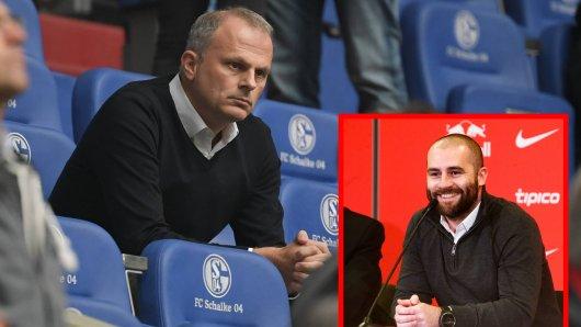 Jochen Schneider (l.), Sportvorstand des FC Schalke 04, will angeblich Paul Mitchell (r.) als Sportdirektor verpflichten.