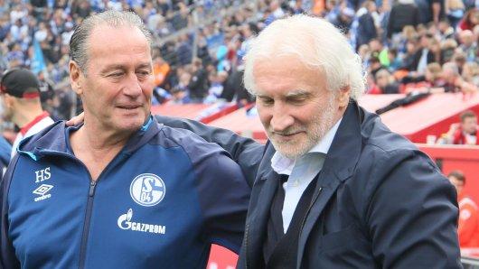 Rudi Völler war nach dem 1:1 zwischen Leverkusen und Schalke stinksauer.