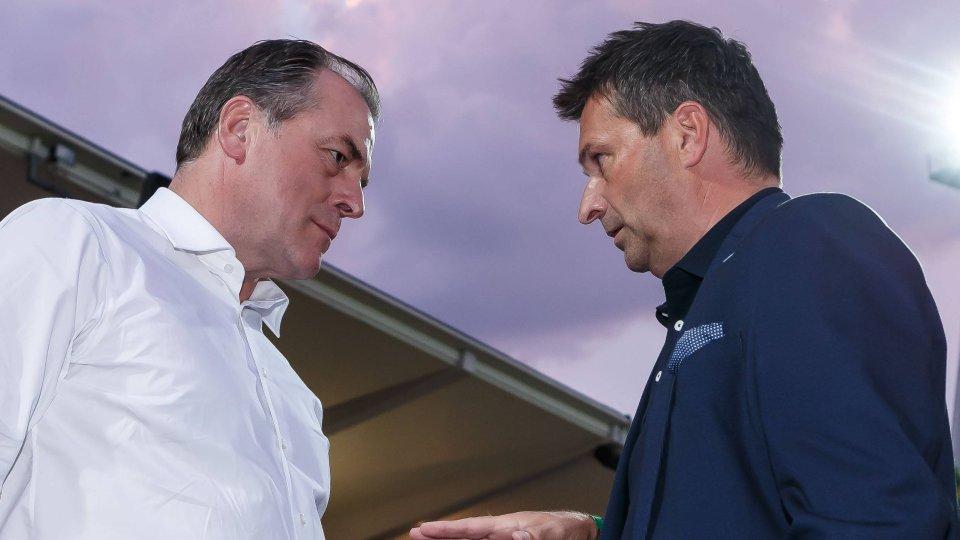 Beim FC Schalke 04 waren Aufsichtsratsboss Clemens Tönnies und Sportvorstand Christian Heidel nicht immer einer Meinung.