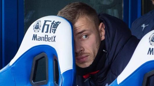 Max Meyer hatte den FC Schalke 04 verlassen und hatte vor der Saison bei Crystal Palace unterschrieben.
