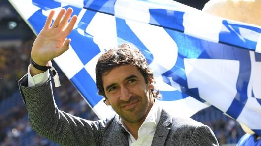 Beim FC Schalke 04 ist Stürmer-Ikone Raúl ein großer Publikumsliebling.