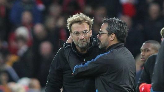 Kein Testspiel zwischen dem FC Schalke 04 und Liverpool – das Wiedersehen von Jürgen Klopp und David Wagner muss warten.