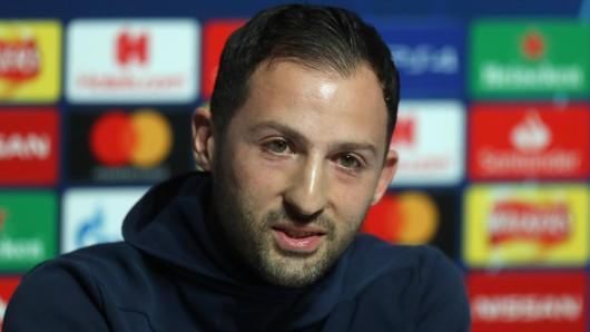 Domenico Tedesco war auf Schalke sehr beliebt. Nun soll er Spartak Moskau trainieren.