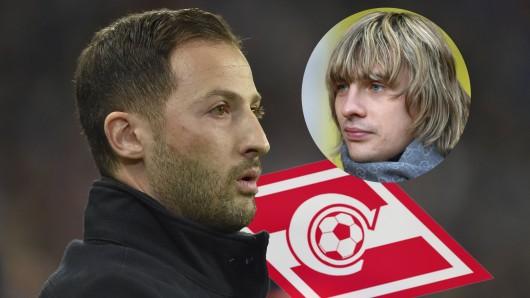 Nach Engagement beim FC Schalke 04: Domenico Tedesco (l.) steht vor der Unterschrift bei Spartak Moskau.