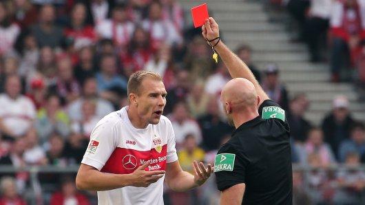 Ex-Schalker Holger Badstuber rastete nach dem Platzverweis aus.