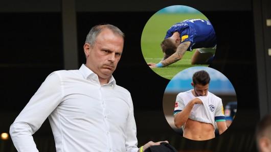 Jochen Schneider wird sich nach Alternativen für die Schalker Offensive umschauen.