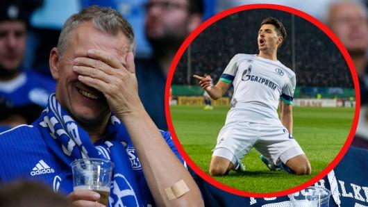 Die Fans des FC Schalke 04 mussten am Dienstagabend mächtig zittern.