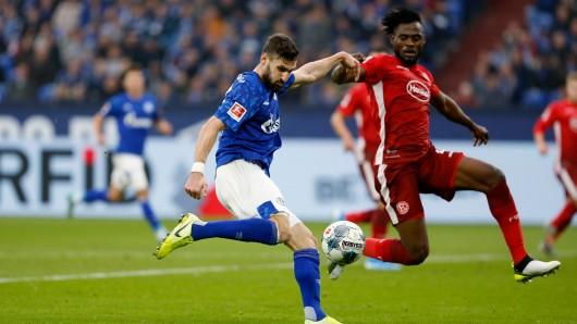 Schalke - Düsseldorf im Live-Ticker: Caligirui bringt S04 in Führung.