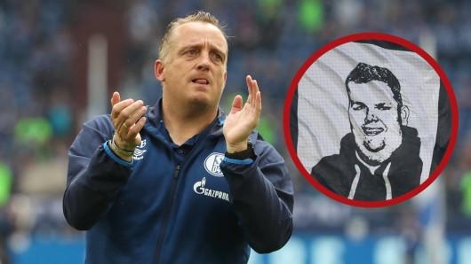 Mike Büskens rührt mit einem Nachruf auf den gestorbenen Schalke-Fan zu Tränen.